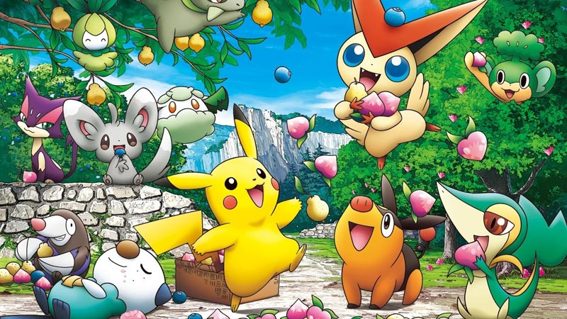 Pokemon Chronicles: 22 episode (English Dubbed) Pikachu's Winter Vacations